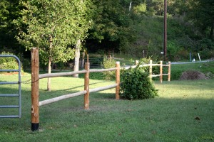 farm fence and gates
